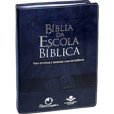 BÍBLIA DA ESCOLA BÍBLICA - AZUL
