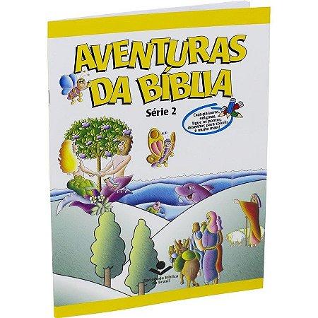 AVENTURAS DA BÍBLIA SÉRIE 2 LIVRO PARA COLORIR