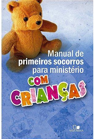 MANUAL PRIMEIROS SOCORROS CRIANÇAS