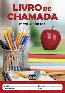 LIVRO DE CHAMADA - EBD CAPA MAÇÃ