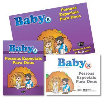KIT BABY 8 PESSOAS ESPECIAIS PARA DEUS