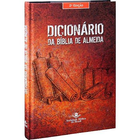DICIONÁRIO DA BÍBLIA ALMEIDA