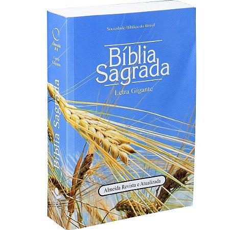 BÍBLIA RA LETRA GIGANTE - TRIGO
