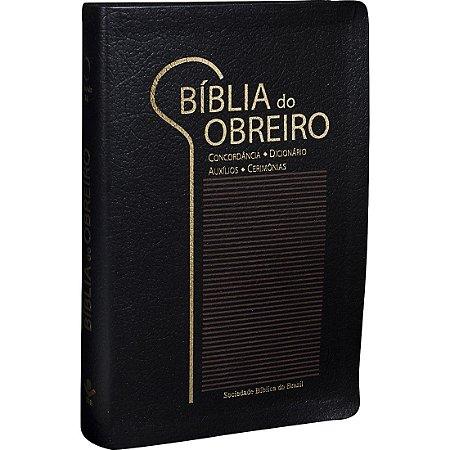 BÍBLIA DO OBREIRO RA PRETA