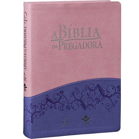 BÍBLIA DA PREGADORA - ROSA/VIOLETA
