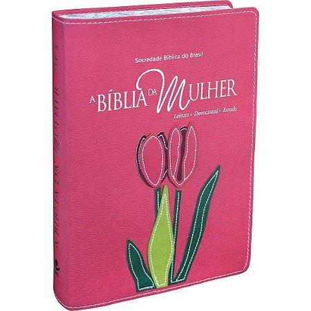 BÍBLIA DA MULHER GRANDE - GOIABA NOVA