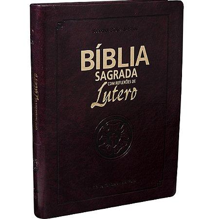 BÍBLIA COM REFLEXÕES DE LUTERO - MÉDIA