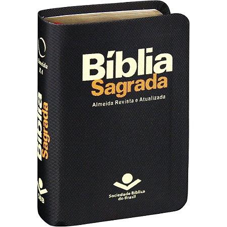 BÍBLIA BOLSO PRETA