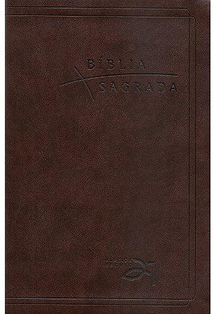 BÍBLIA A21 LUXO - CAFÉ COM REFERÊNCIAS CRUZADAS