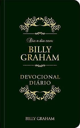 DEVOCIONAL DIA A DIA COM BILLY GRAHAM - COURO