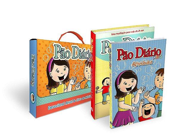 BOX - PÃO DIÁRIO KIDS - LIVRO+ATIVIDADES