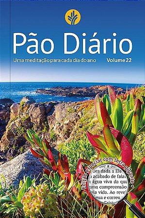DEVOCIONAL PÃO DIÁRIO - PAISAGEM VOL. 22 - LETRA GIGANTE
