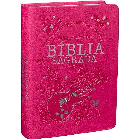 BÍBLIA NTLH LETRA GRANDE PINK