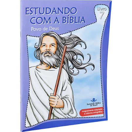 REVISTA ESTUDANDO COM A BÍBLIA - LIVRO 7 - POVO DE DEUS