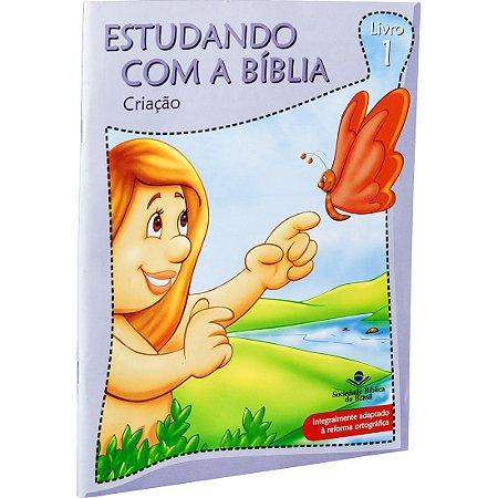 REVISTA ESTUDANDO COM A BÍBLIA - LIVRO 1 - CRIAÇÃO
