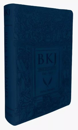 BÍBLIA BKJ KING JAMES FIEL 1611 ULTRAGIGANTE - AZUL