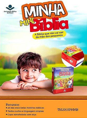 MINHA MINI BÍBLIA ILUSTRADA COM ALÇA