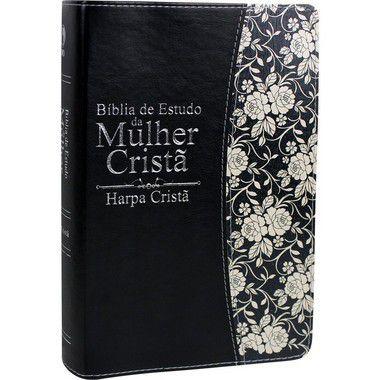 BÍBLIA DE ESTUDO DA MULHER CRISTÃ - PRETA