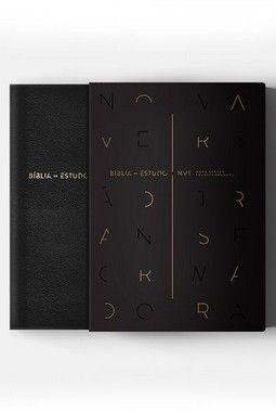 BIBLIA DE ESTUDO NVT PRETA