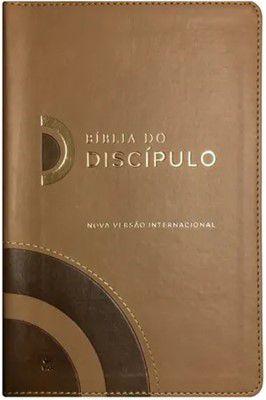 BÍBLIA DO DISCÍPULO NVI CAPA LUXO MARROM