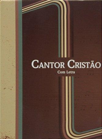 CANTOR CRISTÃO BROCHURA