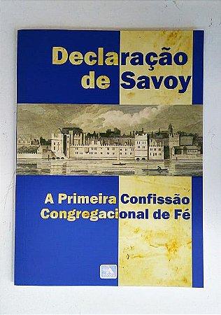 DECLARAÇÃO DE SAVOY