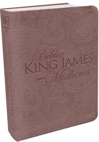 BÍBLIA KING JAMES PARA MULHERES - ROSE GOLD