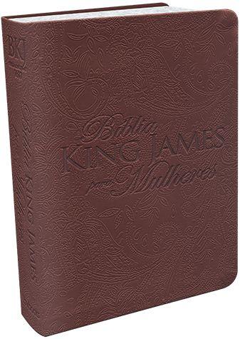 BIBLIA KING JAMES PARA MULHERES - MARROM