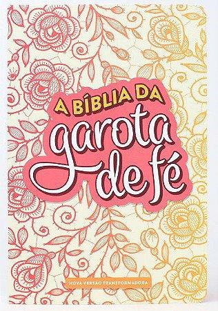 A BÍBLIA DA GAROTA DE FÉ NVT - ROSAS