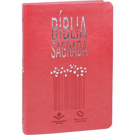 BÍBLIA NAA SLIM  PÊSSEGO NOBRE