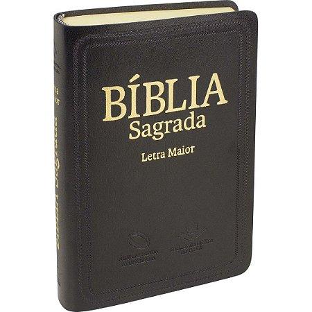 BIBLIA NAA LETRA MAIOR PRETA