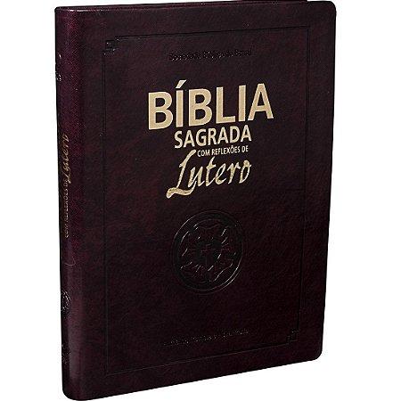 BÍBLIA COM REFLEXÕES DE LUTERO - GRANDE