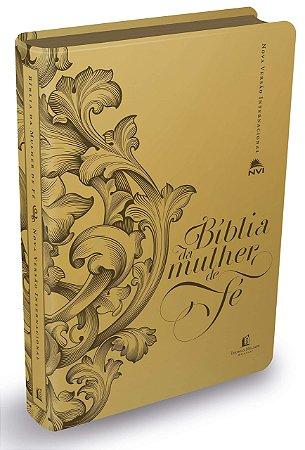 BÍBLIA DA MULHER DE FÉ - DOURADA