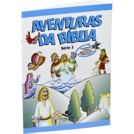 AVENTURAS DA BÍBLIA BROCHURA ILUSTRADA VOL 3