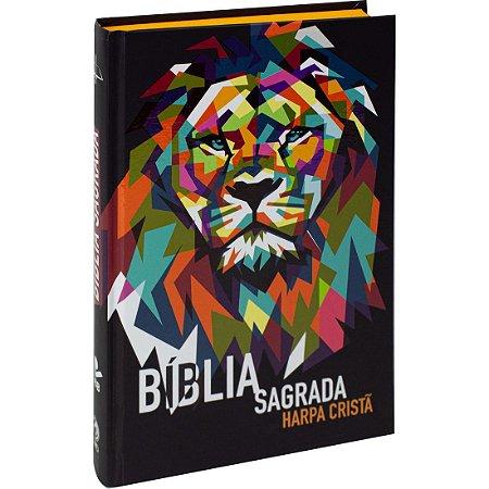 BÍBLIA ARC IMPACTAR LEÃO CAPA DURA
