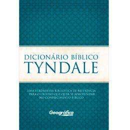 DICIONARIO BIBLICO TYNDALE