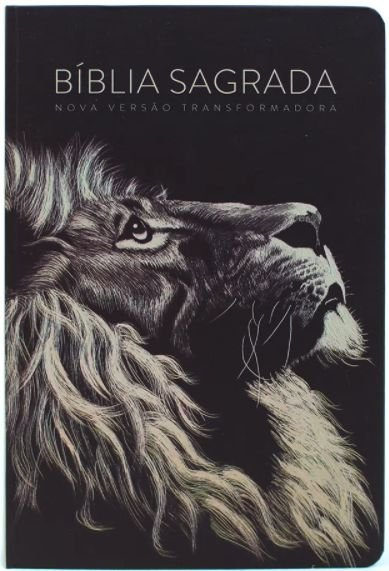 BIBLIA NVT LETRA GRANDE CAPA DURA LION HEAD