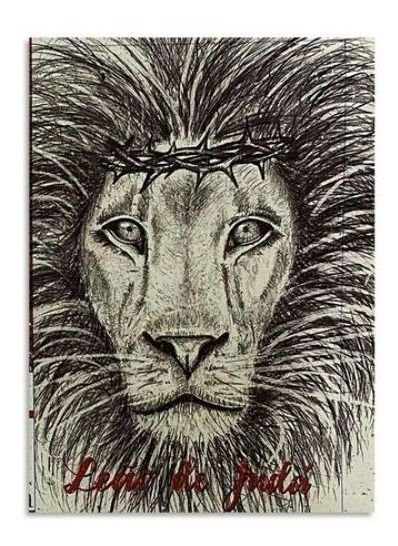 BÍBLIA KING JAMES ATUALIZADA - CAPA DURA LEÃO APOCALIPSE 5:5