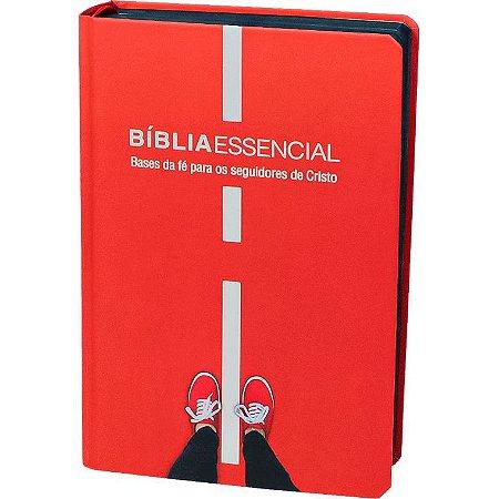 BÍBLIA NAA ESSENCIAL ILUSTRADA VERMELHA