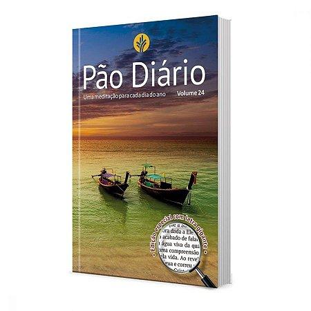 PÃO DIÁRIO 24 CAPA PAISAGEM - LETRA GIGANTE