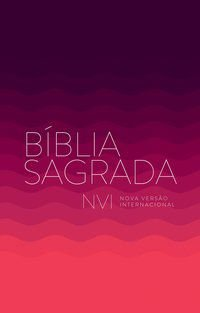 BIBLIA NVI VINHO BROCHURA ECONÔMICA