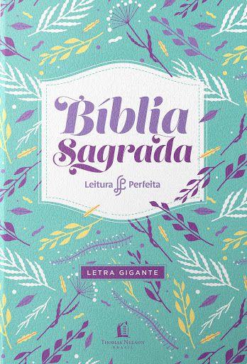 BÍBLIA NVI LEITURA PERFEITA LETRA GIGANTE ROXA