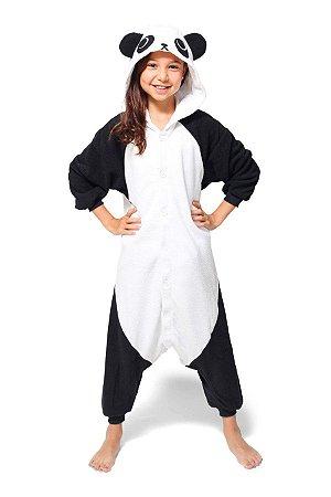 Panda Fofinho Pijama Kigurumi Fantasia