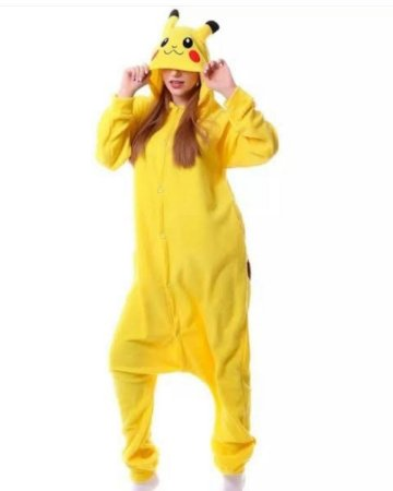 Etezinho Amarelo Espaço Pijama Kigurumi Fantasia