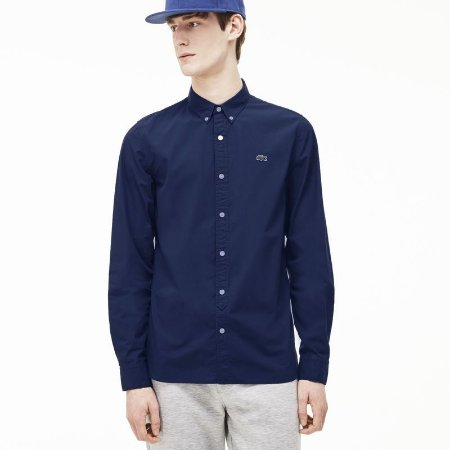 Camisa Skinny Fit Lacoste