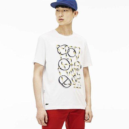 Camiseta Lacoste Live Estampada