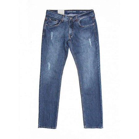 Calça Calvin Klein Jeans Five Pockets Masculina