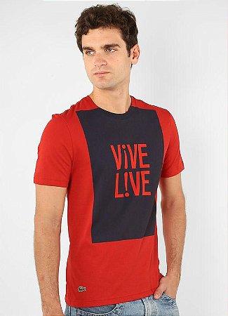 Camiseta Masculina Ultraslim Lacoste