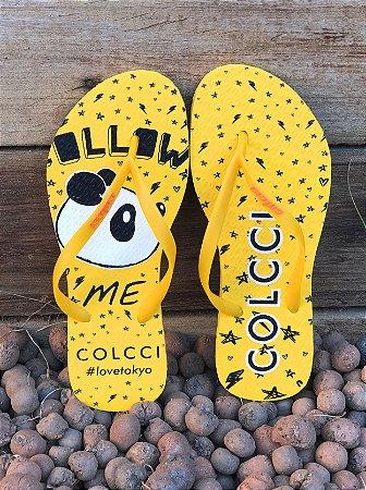 Chinelo Colcci Follow Me Panda