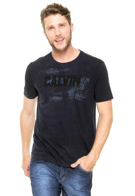 Camiseta Calvin Klein Jeans Bordada